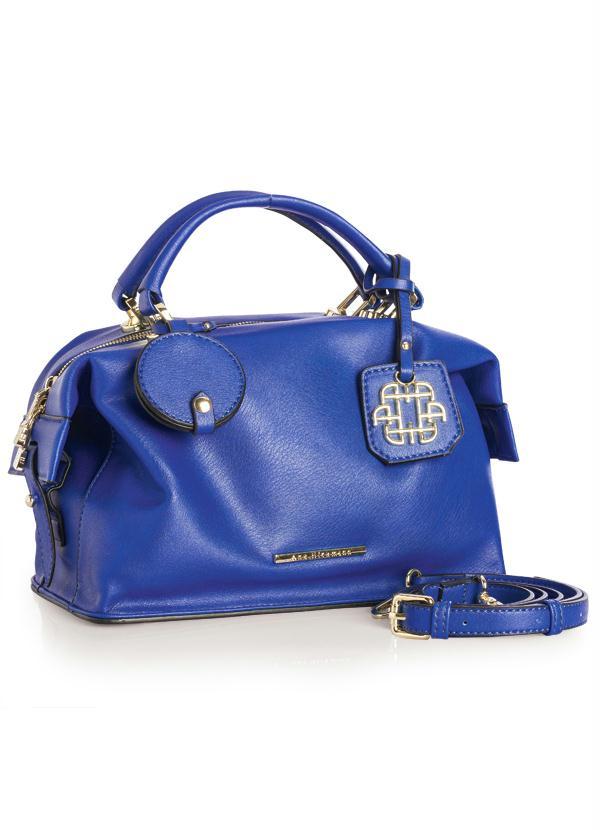 Bolsa De Mão Ana Hickmann : Bolsa de m?o ana hickmann azul posthaus