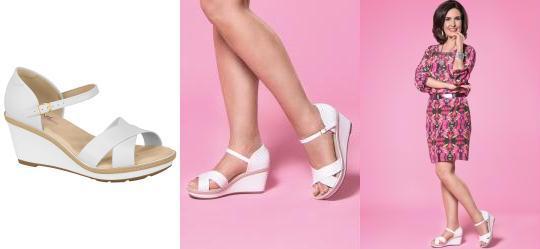 Sand�lia com Tiras Transpassadas Branca Modare