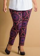 Cal�a Legging Estampa Mandalas Plus Size