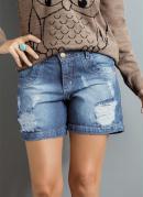 Short Boyfriend Jeans
