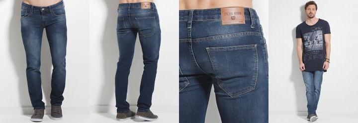 Calça Jeans Escura Masculina Colcci