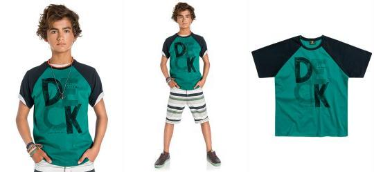 Camiseta Masculina Lemon Verde