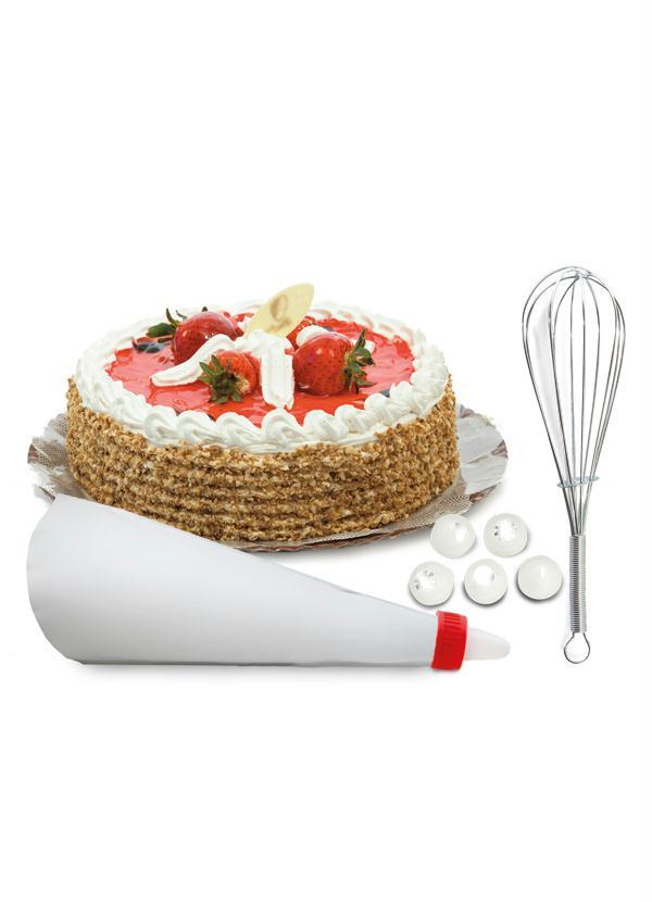 Kit batedor e decorador de bolo lar lazer - Decorador de fotos gratis ...