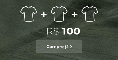 3 peças até R$100